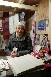 Cilli Doblander beim Umhauser Christkindlmarkt am 10.12.2017